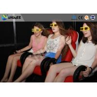 China 5D Cinema System  Internal of Mobile Car With Wheel , Moved to the  crowded places wholesale