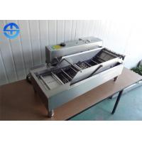 China Double Row Automatic Donut Making Machine , Electric Deep Fryer Machine wholesale