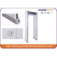 China Most Popular 6 Zones Security Walk Through Metal Detector Door Frame ISO Standard wholesale