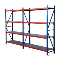 China Four Layers Wide Span Shelving Unit For School /  Library Easy Assembled wholesale