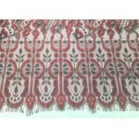 "Buy cheap Machine knitted Jacquard Eyelash Lace Trim 150cm / 60"" Wide Embroidery Wedding from wholesalers"