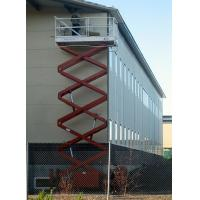 China electric powered self propelled scissor lift on sale