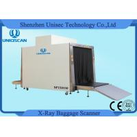 Buy cheap 1.5*1.5m Tunnel Big Size Cargo X-ray Scanning System with 500 Kg Conveyor Load from wholesalers