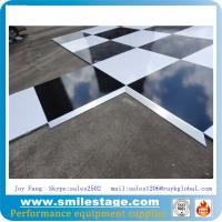 Buy cheap Removable outdoor wooden dance floor for banquet product