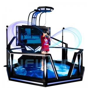 China VR Hunting Game Simulator 9D Virtual Reality Equipment / Walking Shooting VR Spcae Machine wholesale