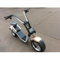 China Fashion Citycoco/ Harley scooter/ 2 wheels Electric Motorcycle with 1200W Motor wholesale