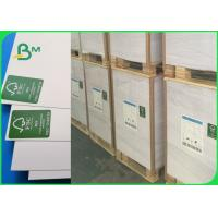 China FSC Top Stiffness Smoothness Ivory Board Paper / 300g One Side Coated Folding Box Board For Drug Box wholesale