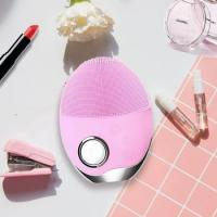 China Electric Silicone Facial Cleansing Brush 12000 Times Per Minutes CE Certification wholesale