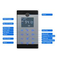 China AC 110V/220V Steam Sauna Equipment 304 Stainless Steel Material LCD Display Screen Control wholesale