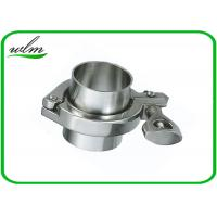 China ISO 2852 Sanitary Stainless Steel Tri Clamp Fittings , Clamp Pipe Couplings For Food Industry wholesale