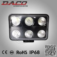 China 60W Led Working Lamp Car Exterior Accessories Led work Light 3000k/6000k IP68/69K on sale