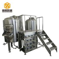 China Stainless Steel Brewing Systems , Beer Making Equipment CE CCC Certified wholesale