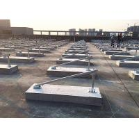 China Cement Blocks Solar Panel Roof Mounting Systems Iron Sheet Stainless Steel wholesale