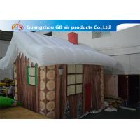 China Inflatable Christmas Decoration House Inflatable Tent House / Snow House wholesale