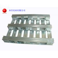 China 2 Way Metal Pallets For Warehouse And Transportation Extile Foods And Logistics wholesale