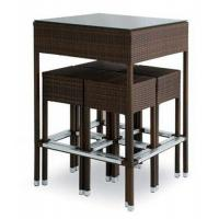 China Outdoor rattan wine bar set-16080 wholesale