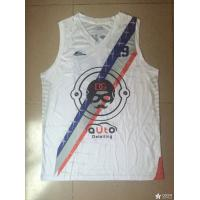Buy cheap Custom OEM Sublimation basketball jersey basketball vest white color product