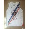 China Custom OEM Sublimation basketball jersey basketball vest white color wholesale