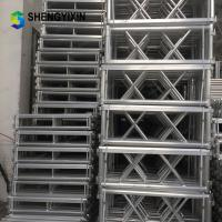 China Escenario Aluminum Stage Truss Height Adjustable Stage Platform Folding Dance Stage for Outdoor Concert Show wholesale
