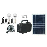 China 20w portable  solar power system solar energy off-grid solar power with mp3 and radio for Africa wholesale