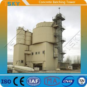 China BP1000S Skip Hoist Feeding 20m³/h Precast Batch Plant wholesale