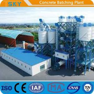China Compact Small Size 180m3/H HLS180 Precast Batch Plant wholesale