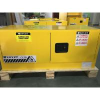 China Horizontal Flammable Industrial Safety Cabinets Piggyback With Doors 12 GAL wholesale