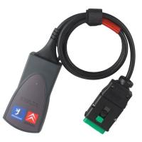 China PP2000 / Lexia-3 Interface V48 For Citroen & Peugeot, Auto Diagnostic Tool with Diagbox V7.76 Software wholesale