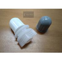 Polyethylene Round Twist Top Cap 12mm For Plastic Bag / Pouch , Plastic Material