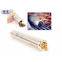 China Smokincube Wood Pellet Smoker Tube Perforated Stainless Steel For Barbecue wholesale