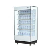 China 2000*1060*2100 Multideck Commercial Display Fridge With Air Curtain wholesale
