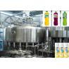 China Rotary Multi-Head fruit juice drink hot filling machine Juice Filling Line wholesale