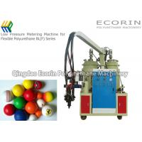 China Fully Automatic Polyurethane Foam Machine For Golf Ball  Alarm Function wholesale
