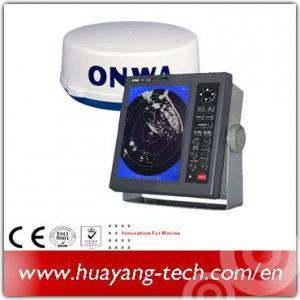 China 10.4 Inch Color LCD Display 36nm Marine Radar wholesale
