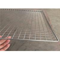 China Light Weight Wire Mesh Basket Tray , Wire Cable Tray 100cm*50cm*20cm wholesale