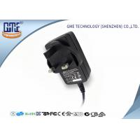 China 12V 1.5A Switching Power Adapter / wall mount adapter 18W for Electrical Equipments wholesale