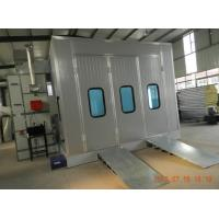 Buy cheap Down Draft Car Spray Booth For Automotive garage with lighting and heating from wholesalers