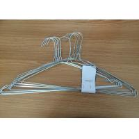 China Q195 Material Clothes Wire Hangers Recyclable Non Slip Clothes Hangers For Shirt wholesale