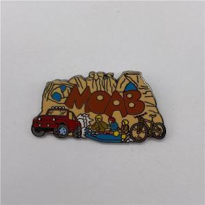 "China Zinc Alloy 2D 1/2""-5"" Soft Enamel Lapel Pins wholesale"