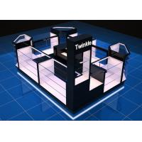 China Healthy Material Jewellery Display Cabinets / Shopping Mall Kiosk Large Capability wholesale