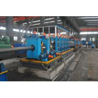 China Full Automatic ERW Steel Pipe Production Line HG140 Square Shape Adjustable Size wholesale