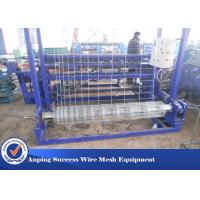 China High Speed Cattle Fence Machine , Grassland Fence Making Machine Small Size wholesale