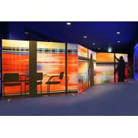 China Advertising Display Fabric Frameless Light Box Backlit 1.2 Kg/Meter Weight wholesale