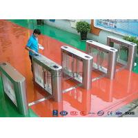 Quality 304 Stainless Steel Card Read Swing Arm Barriers Security Pedestrian Control for sale