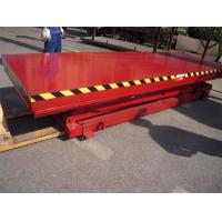 China Stationary Aerial Scissor Working Platform 1150mm Lifting Height With Large Capacity wholesale