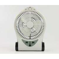 China Small Portable Rechargeable Battery Operated Fan With Adjustable Base wholesale