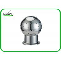 China Fixed Tank Sanitary Stainless Steel Spray Ball With Tri Clamp Connection End wholesale