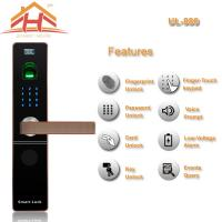 China Zinc Alloy Material IC Card Entry Door Lock with Password function wholesale