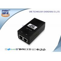 China Desktop Switching POE Power Adapter 12V 0.8A with UL FCC GS Certificated wholesale
