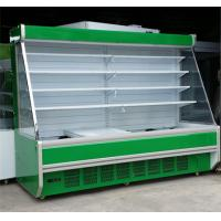 Quality Three Shelves Cooler Multideck Open Display Refrigerator R404 / R22 Refrigerant for sale